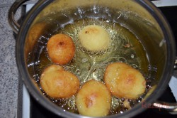 Zubereitung des Rezepts Vanillequarkbällchen, schritt 5
