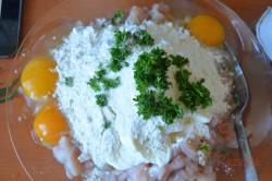 Zubereitung des Rezepts Französische Hähnchenpuffer, schritt 3