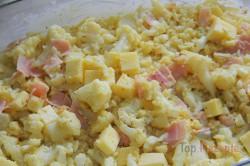 Zubereitung des Rezepts Schinken-Käse-Blumenkohl-Auflauf, schritt 3