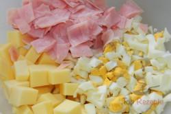 Zubereitung des Rezepts Schinken-Käse-Blumenkohl-Auflauf, schritt 1