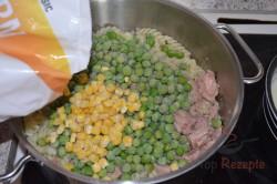 Zubereitung des Rezepts Nudelauflauf mit Thunfisch und Käse, schritt 3