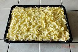 Zubereitung des Rezepts Gestreuter Tassenkuchen mit Äpfeln, schritt 8