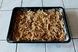 Zubereitung des Rezepts Gestreuter Tassenkuchen mit Äpfeln, schritt 6