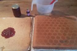 Zubereitung des Rezepts Punschschnitten wie aus der Konditorei, schritt 5