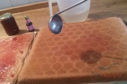 Zubereitung des Rezepts Punschschnitten wie aus der Konditorei, schritt 6