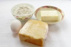 Zubereitung des Rezepts Party-Käsecracker aus 4 Zutaten, schritt 1
