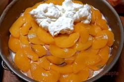 Zubereitung des Rezepts Pfirsich-Torte ohne Backen, schritt 10