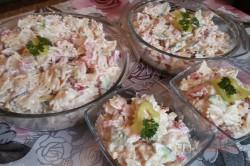 Zubereitung des Rezepts Einfacher frischer Nudelsalat, schritt 3