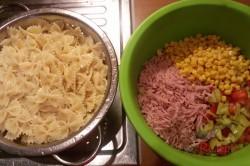 Zubereitung des Rezepts Einfacher frischer Nudelsalat, schritt 1