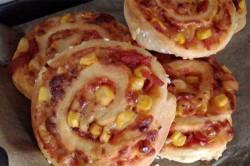 Zubereitung des Rezepts Pizzaschnecken, schritt 5