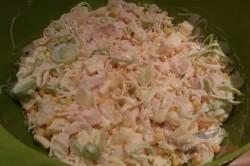 Zubereitung des Rezepts Sellerie-Ananas-Porree-Salat, schritt 4