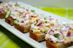 Zubereitung des Rezepts Radieschen-Käse-Salat, schritt 5