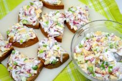 Zubereitung des Rezepts Radieschen-Käse-Salat, schritt 4