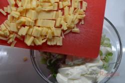 Zubereitung des Rezepts Radieschen-Käse-Salat, schritt 3