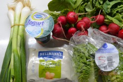 Zubereitung des Rezepts Radieschensalat mit Joghurtdressing, schritt 2