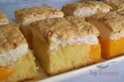 Zubereitung des Rezepts Aprikosenkuchen mit Kokosbaiser, schritt 9