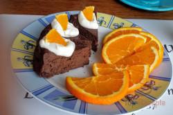 Zubereitung des Rezepts Schokoladenkuchen ohne Mehl und Zucker, schritt 6