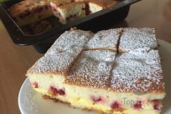 Zubereitung des Rezepts Der feinste Kuchen mit der perfekten Creme in der Mitte, schritt 9