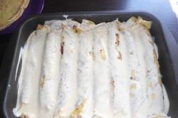Zubereitung des Rezepts Überbackene Pfannkuchen, schritt 4
