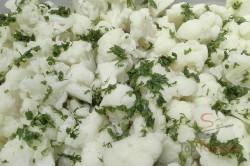 Zubereitung des Rezepts Blumenkohl mit Schinken und Käse überbacken, schritt 1