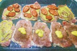 Zubereitung des Rezepts Überbackene Schweineschnitzel aus dem Backofen, schritt 4