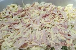 Zubereitung des Rezepts Blumenkohl mit Schinken und Käse überbacken, schritt 3