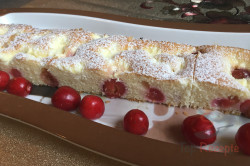 Zubereitung des Rezepts Ungarischer Quark-Kirsch-Kuchen, schritt 10