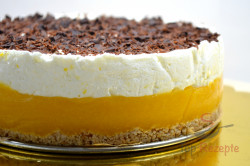 Zubereitung des Rezepts Aprikosen-Joghurt-Torte OHNE BACKEN, schritt 9