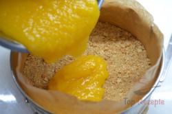 Zubereitung des Rezepts Aprikosen-Joghurt-Torte OHNE BACKEN, schritt 6