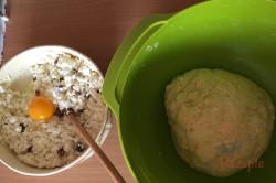 Rezept aus Omas Küche: Quarktaschen mit Hefeteig, schritt 2
