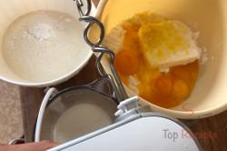 Zubereitung des Rezepts Der beste Apfelkuchen mit Baiser: er zergeht auf der Zunge!, schritt 1