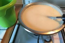 Schoko-Creme-Schnitten für Schokoholics (Tassenrezept), schritt 6