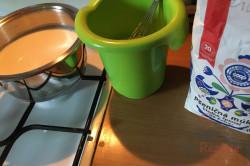 Schoko-Creme-Schnitten für Schokoholics (Tassenrezept), schritt 5