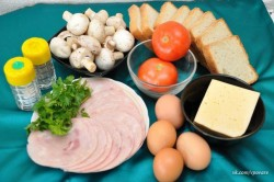 Zubereitung des Rezepts Gefüllte Sandwiches – 2 Arten, schritt 1