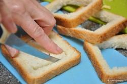Zubereitung des Rezepts Gefüllte Sandwiches – 2 Arten, schritt 3