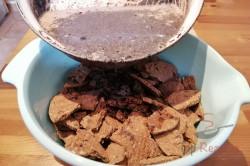 Zubereitung des Rezepts Kokos-Torte ohne Backen aus einer Gugelhupfform in 10 Minuten zubereitet, schritt 1