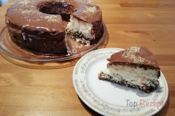 Zubereitung des Rezepts Kokos-Torte ohne Backen aus einer Gugelhupfform in 10 Minuten zubereitet, schritt 6
