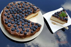 Zubereitung des Rezepts Cheesecake mit der besten Schokoladenglasur, schritt 1