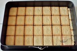 Zubereitung des Rezepts Schneller 10-Minuten-Schaumkuchen ohne Backen, schritt 3