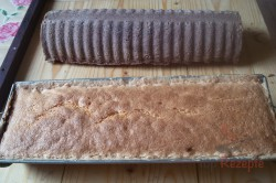 Das Rezept für den dreifarbigen Kuchen unserer Omas, schritt 1