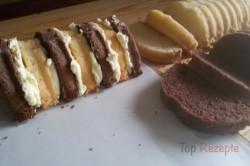 Das Rezept für den dreifarbigen Kuchen unserer Omas, schritt 4