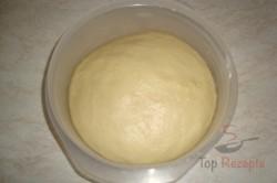 Zubereitung des Rezepts Die besten Milchbrötchen mit Vanillecreme, schritt 3
