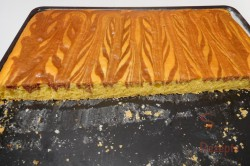 """Zubereitung des Rezepts Schneller Tassenkuchen """"mit Strähnchen"""", schritt 6"""