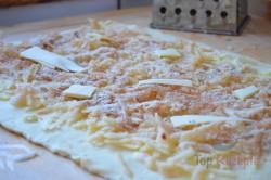 Zubereitung des Rezepts Apfelstrudel aus Quarkteig, schritt 2