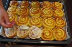 Zubereitung des Rezepts Hefeteig-Schnecken, schritt 5