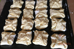 Rezept aus Omas Küche: Quarktaschen mit Hefeteig, schritt 7