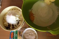 Rezept aus Omas Küche: Quarktaschen mit Hefeteig, schritt 1