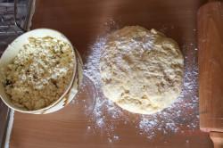 Rezept aus Omas Küche: Quarktaschen mit Hefeteig, schritt 3